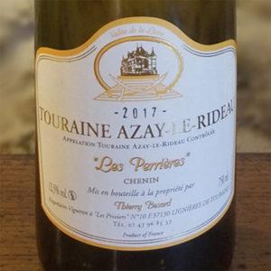 Etiquette vin blanc moelleux 2017 du Domaine Thierry Besard