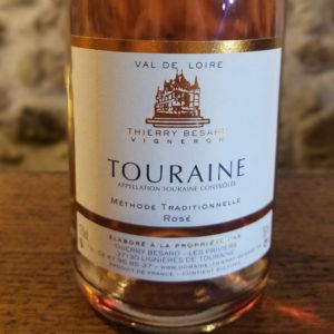 Vin effervescent rosé de Touraine Azay Le Rideau