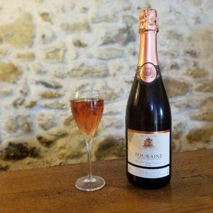 Vin rosé pétillant Azay-le-Rideau