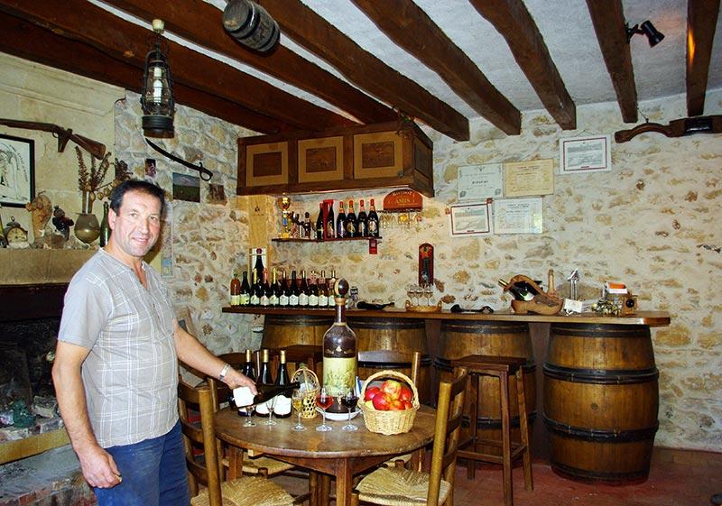 Dégustation de vin Azay-le-Rideau - Domaine Thierry Besard