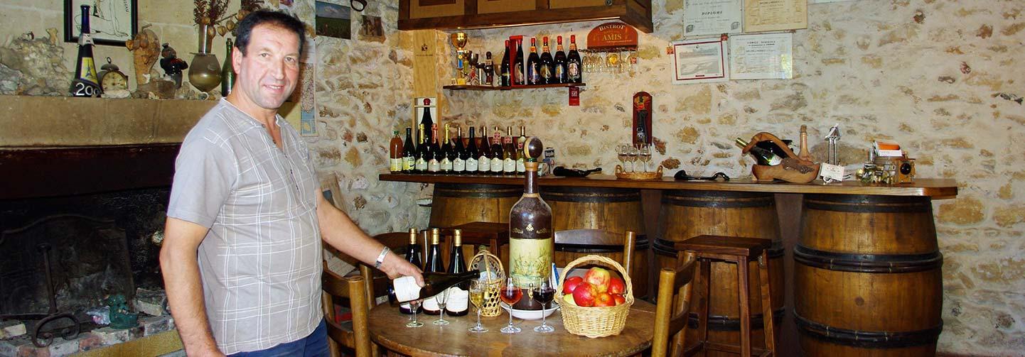 Thierry Besard vigneron indépendant de Touraine Azay le rideau